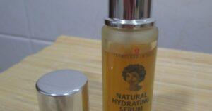 Natural Hidrating Serum de Mahnaz Paymani (opinión)