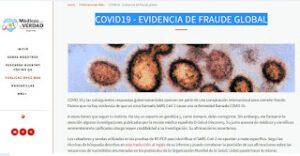 EVIDENCIA FRAUDE GLOBAL COVID-19 – MÉDICOS POR LA VERDAD – ARGENTINA