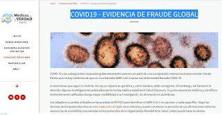 EVIDENCIA FRAUDE GLOBAL COVID-19 - MÉDICOS POR LA VERDAD -